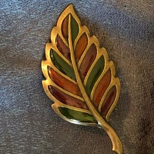 Autumn Leaf Brooch/Pin